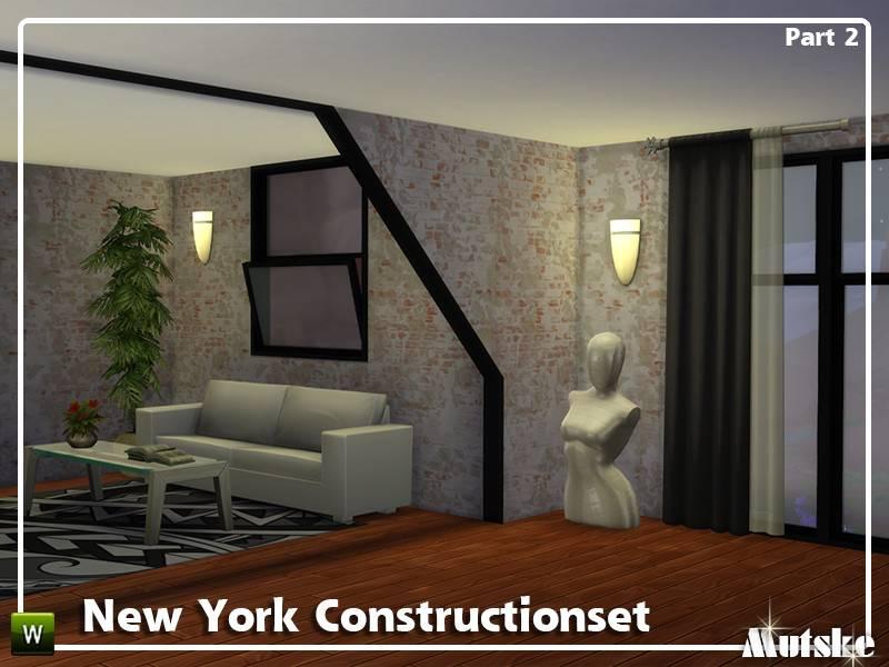 Набор окон, арок и дверей - New York Constructionset Part 2