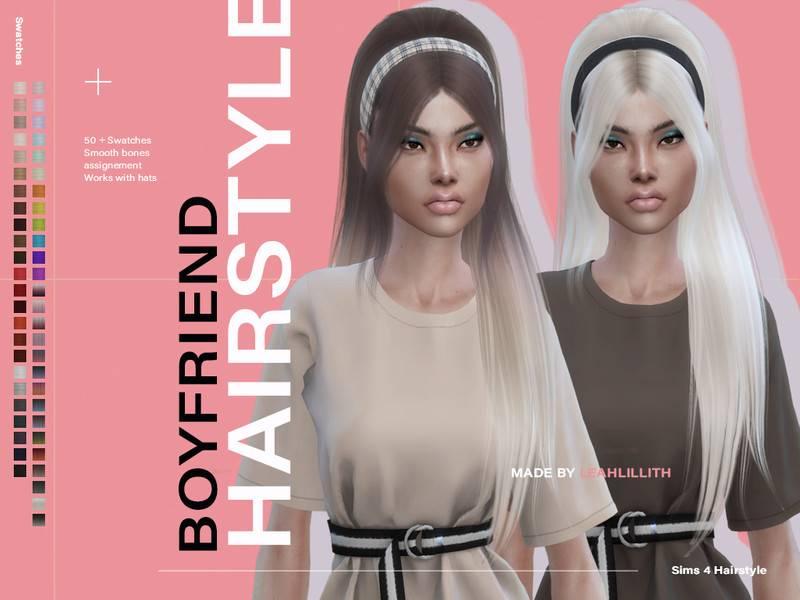 Прическа - Boyfriend Hair