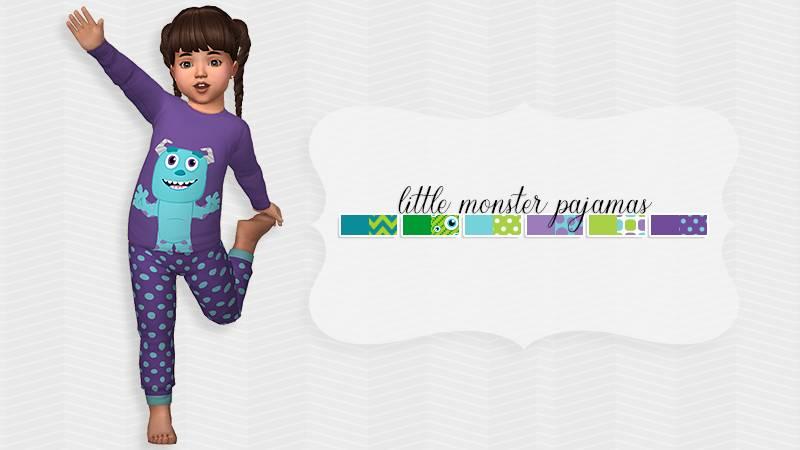 Пижама - Little Monster Pajamas