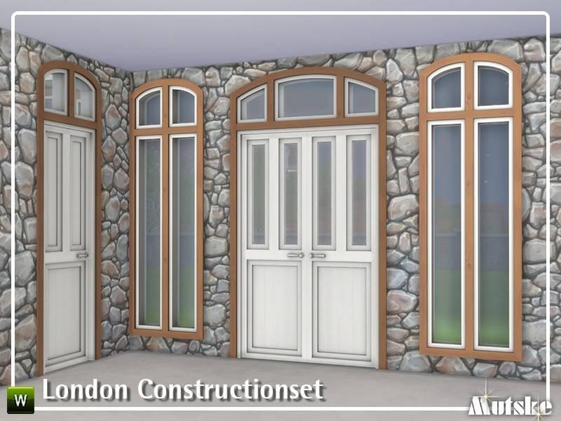 Набор арок, дверей и окон - London Constructionset Part 1