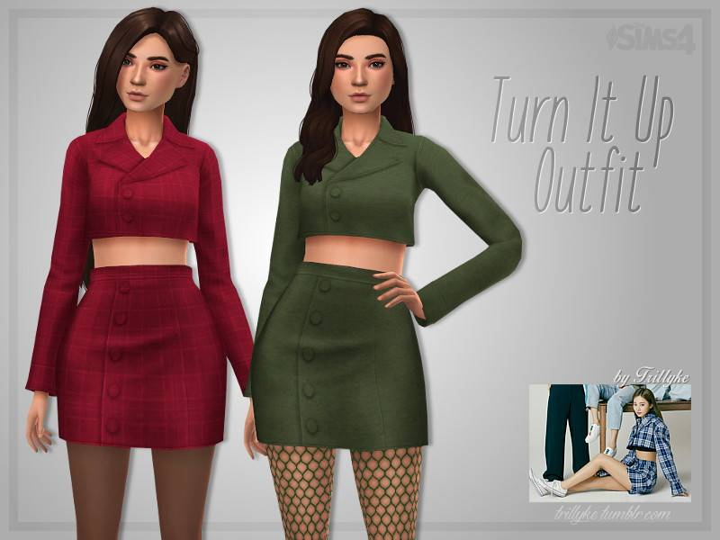 Костюм - Turn It Up Outfit