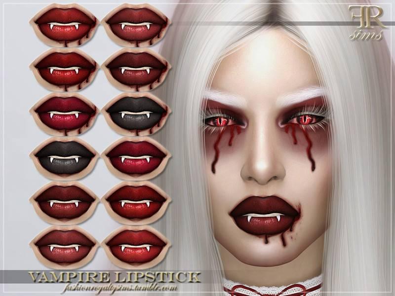 Макияж губ - FRS Vampire Lipstick