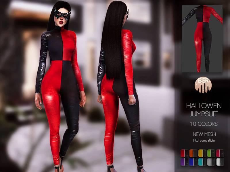 Костюм Харли Квинн - Hallowen Jumpsuit BD123