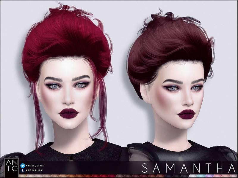 Женская прическа - Samantha