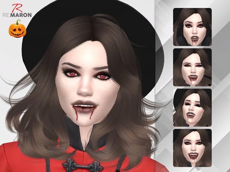 Грим вампира - Vampire Facepaint