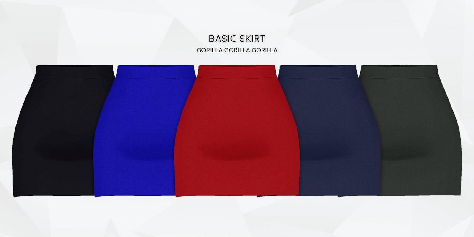 Юбка - Basic Skirt