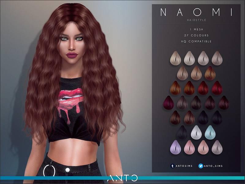 Женская прическа - Naomi