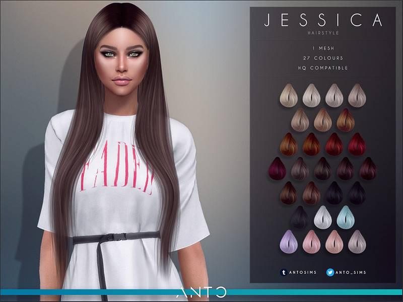 Женская прическа - Jessica
