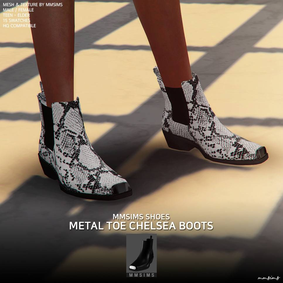 Ботинки - Shoes Metal toe Chelsea boots