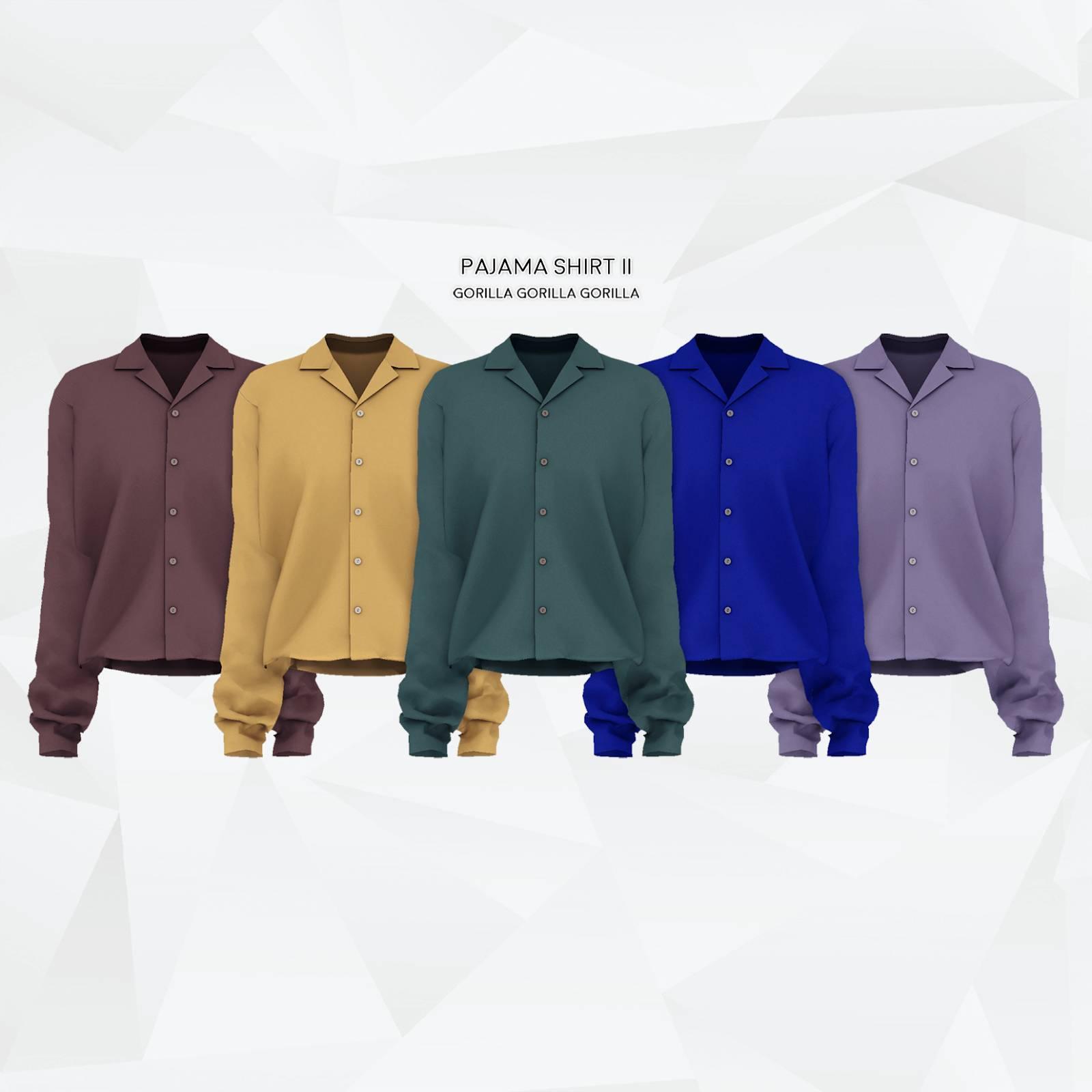 Рубашка - Pajama Shirt II