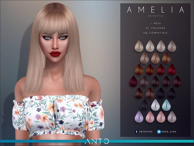 Женская прическа - Amelia