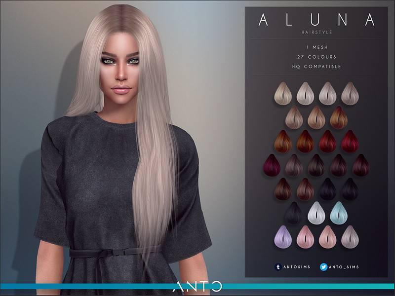 Женская прическа - Aluna