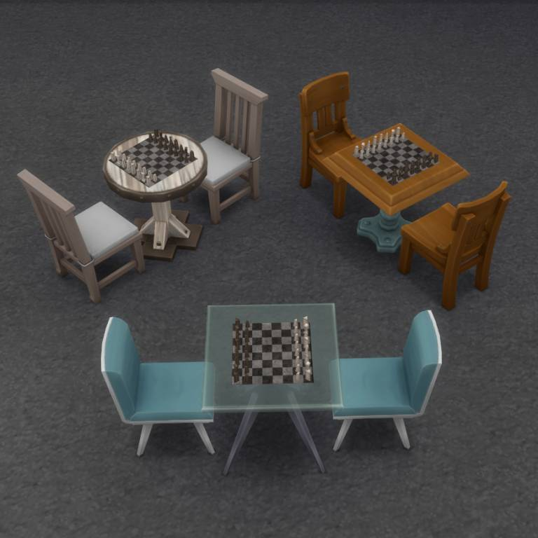 Шахматы - Table-Less Chess Set