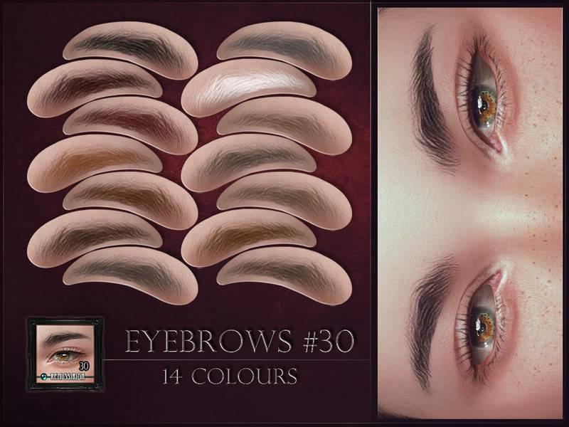 Брови - Eyebrows 30