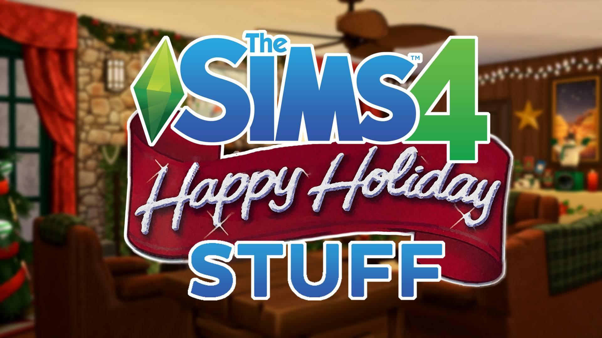 Каталог - The Sims 4 Happy Holiday Stuff!