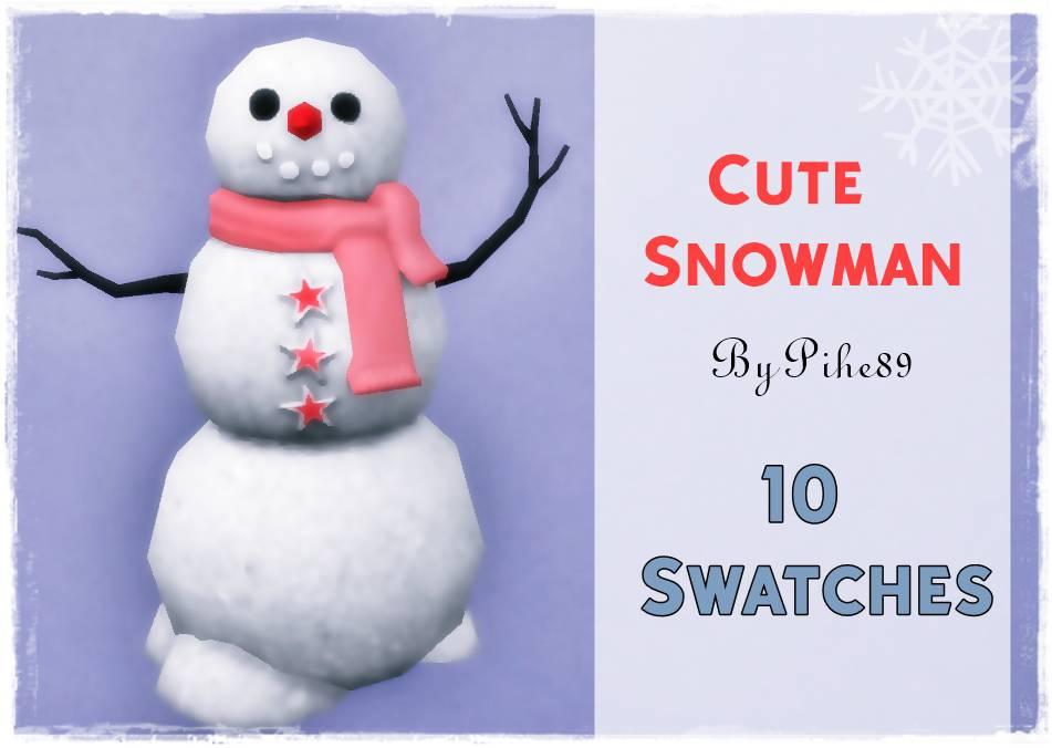 Снеговик - Friendly Decor Snowman