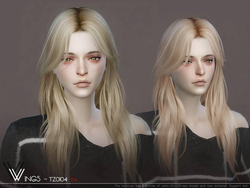 Женская прическа - WINGS-TZ0104