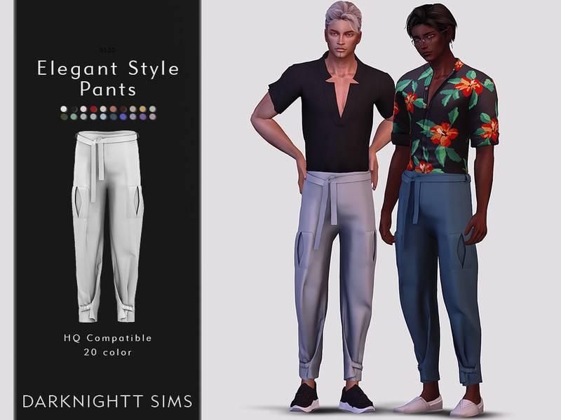 Брюки - Elegant Style Pants