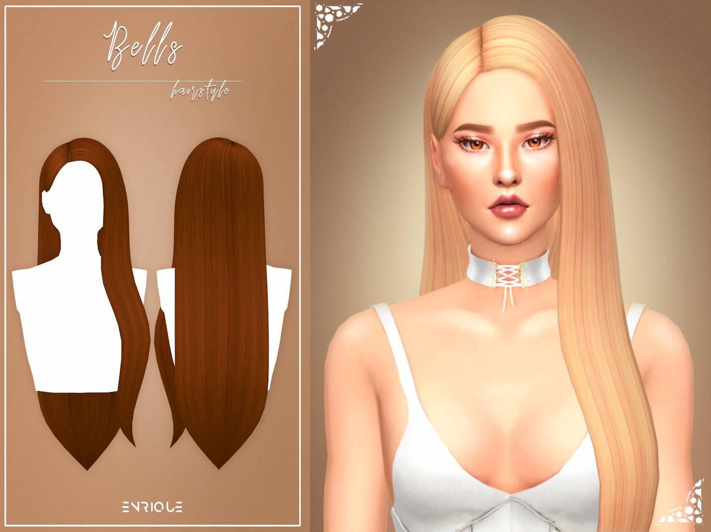 Женская прическа - Bells Hairstyle