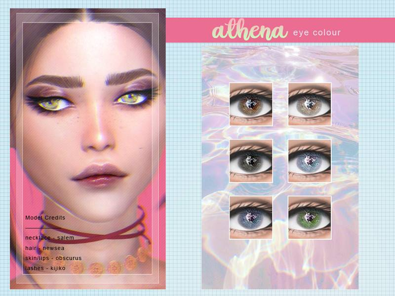 Линзы - Athena 2