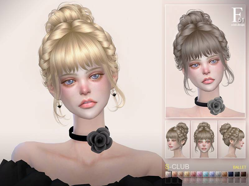 Прическа - hair Ballet n51