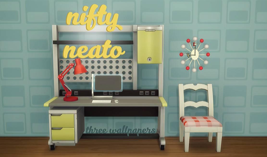 Набор настенных покрытий - nifty neato wallpaper set