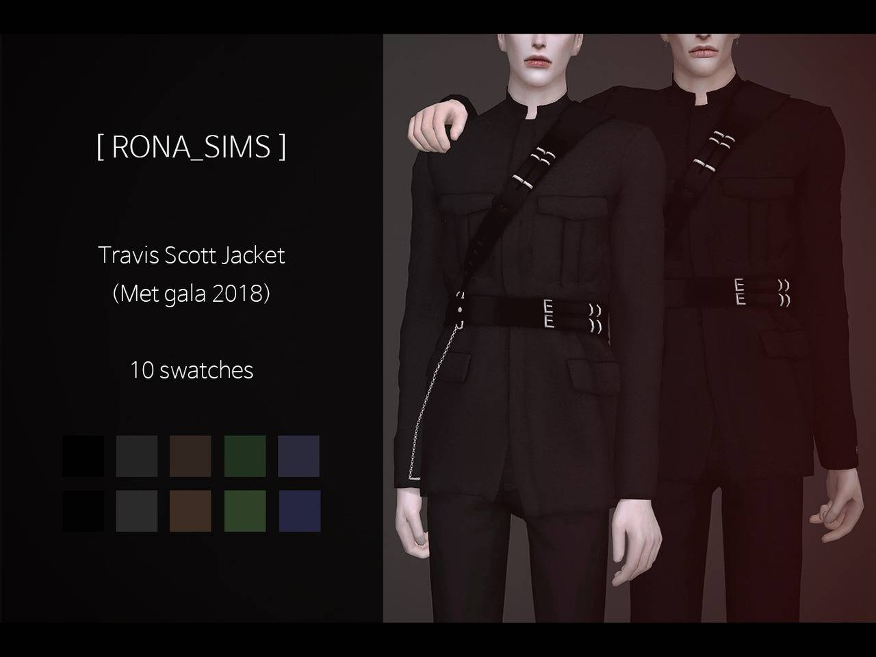 Жакет - Travis Scott Jacket (Met Gala 2018)