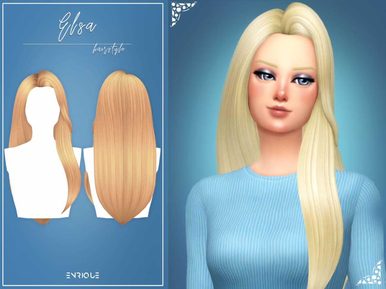 Женская прическа - Elsa Hairstyle