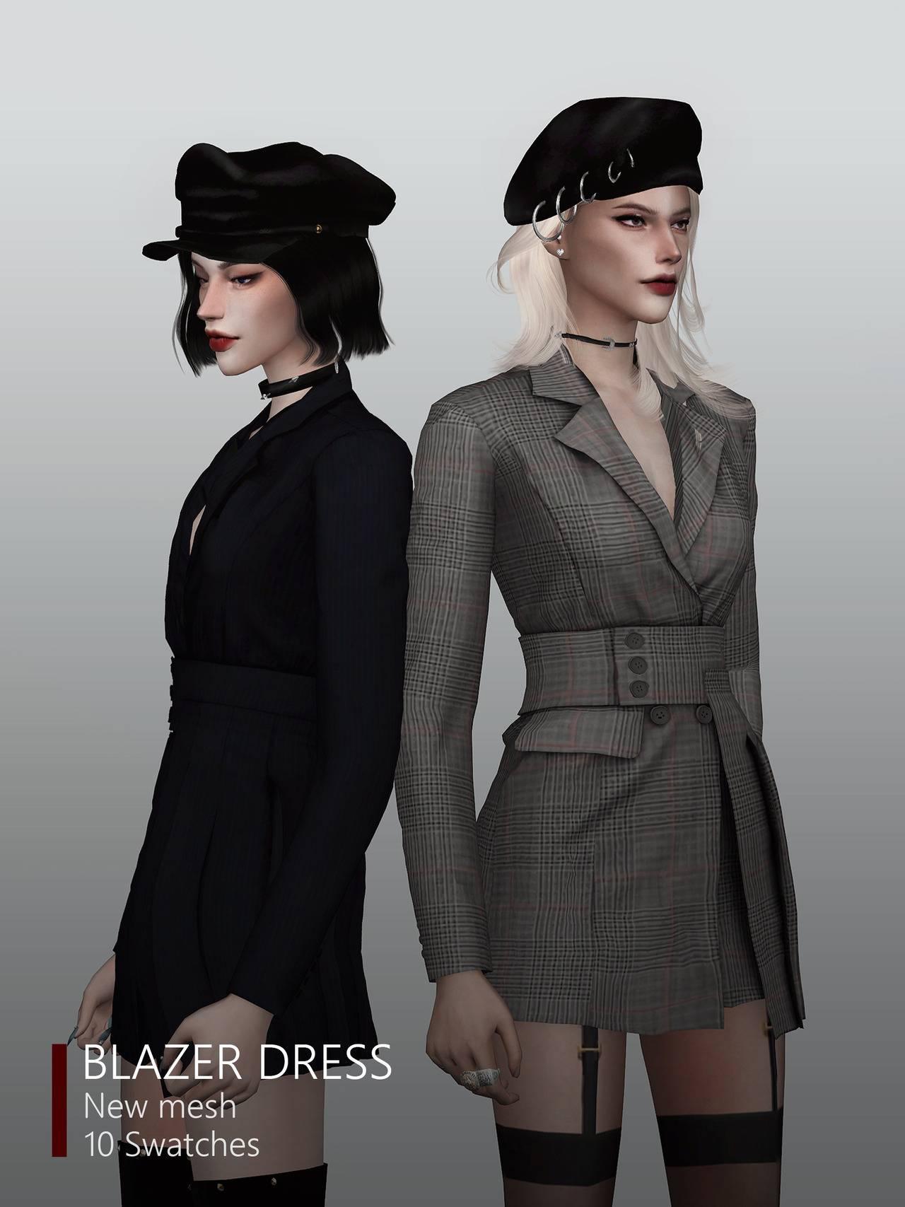 Платье - blazer dress