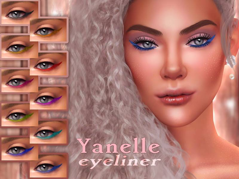 Подводка для глаз - Yanelle Eyeliner