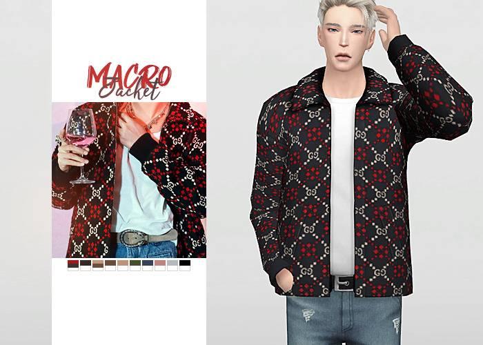 Куртка и футболка - Macro Jacket