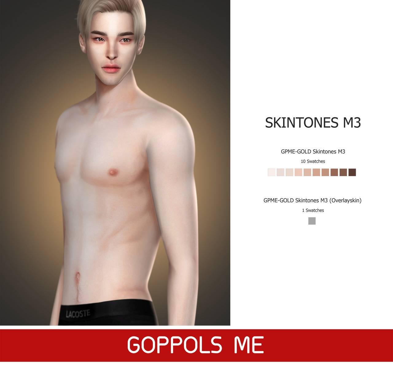 Мужской скинтон - Skintones M3