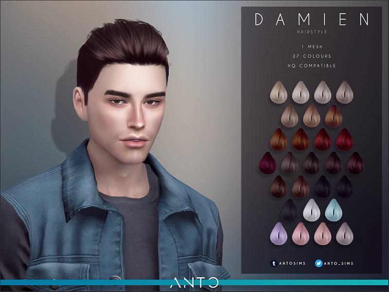 Мужская прическа - Damien