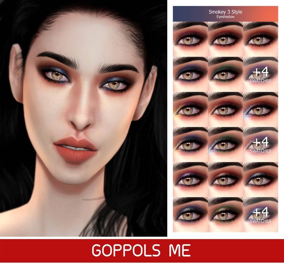 Тени для век - Smokey 3 Style Eyeshadow