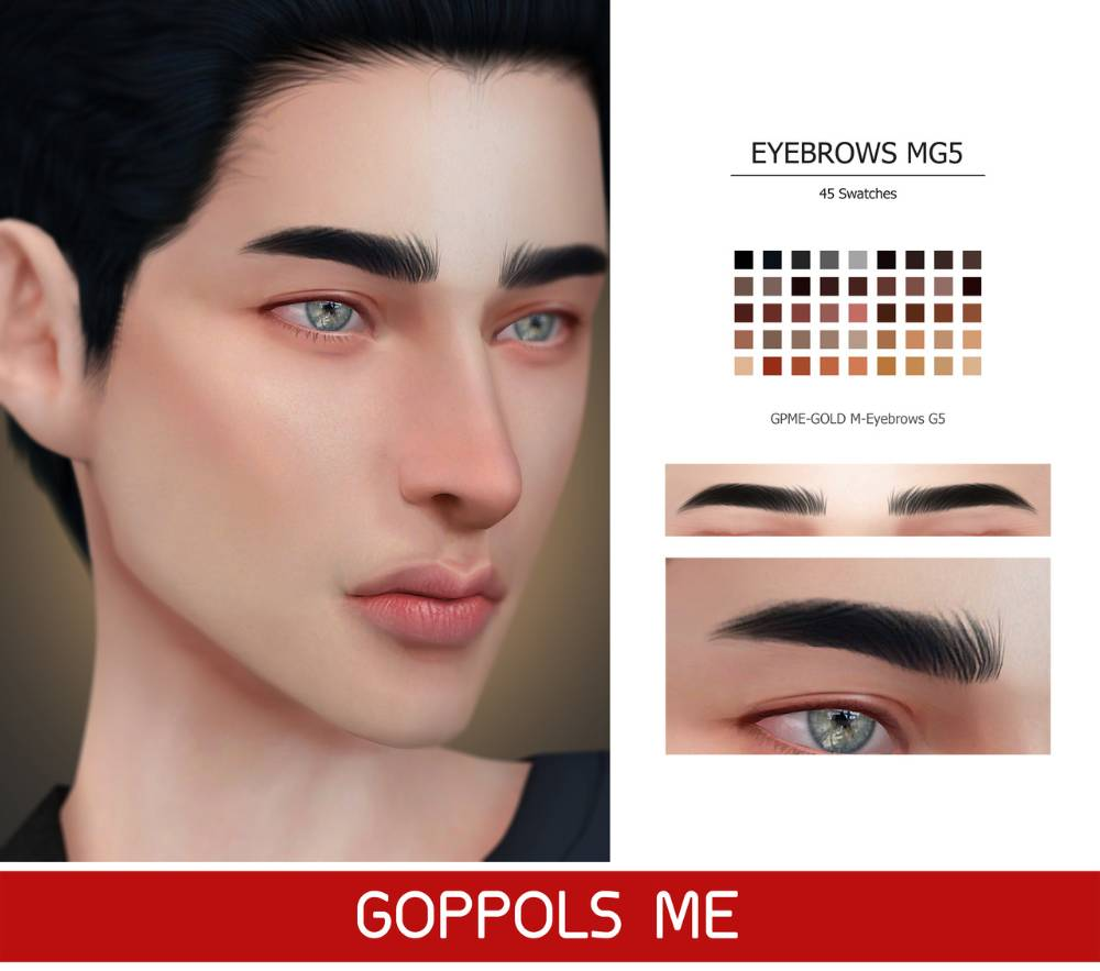 Брови - Eyebrows G5