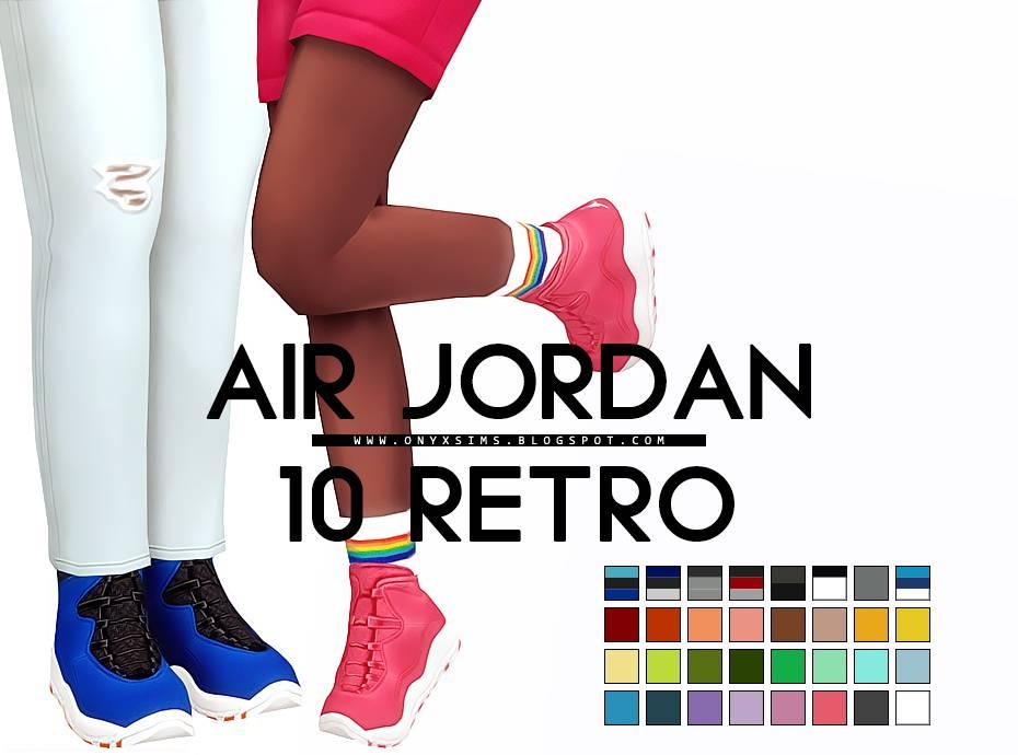 Кроссовки - AIR JORDAN 10 RETRO