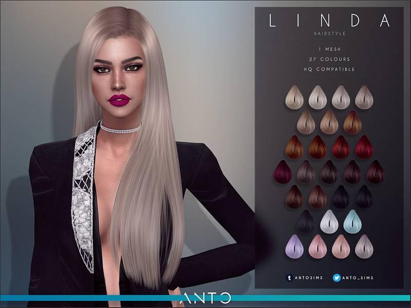 Женская прическа - Linda