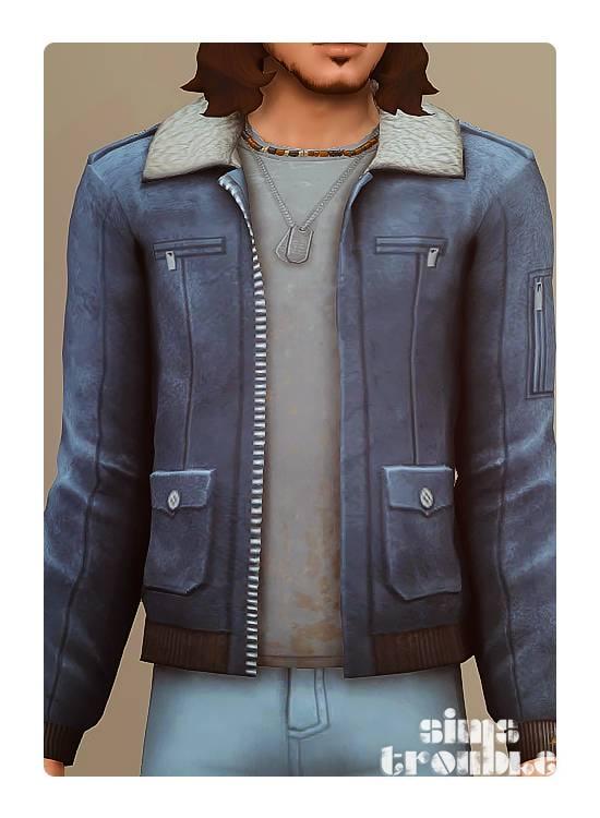Куртка и футболка - JACKET AVIATOR