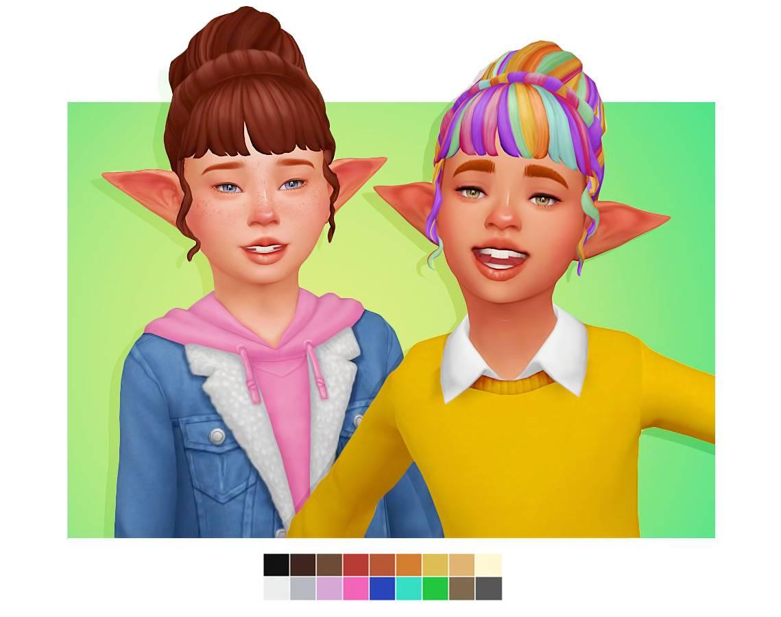 Детская прическа - BUBBLEGUM HAIR CONVERSION