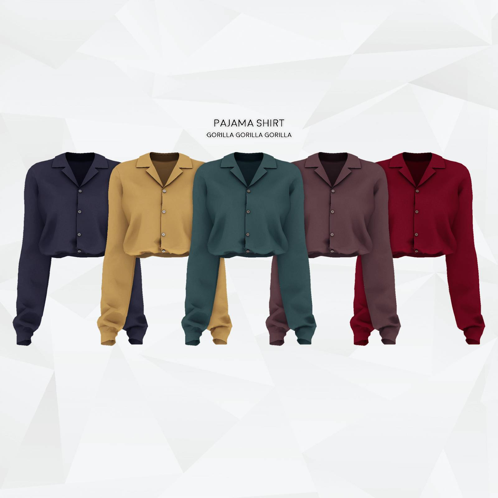 Рубашка - Pajama Shirt gorillax3