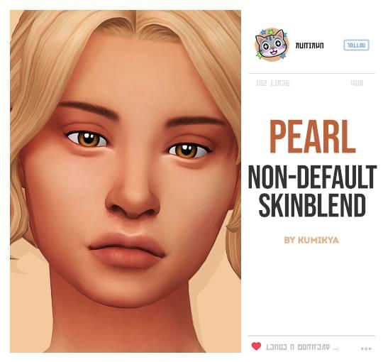 Скин лица - PEARL NON-DEFAULT SKINBLEND