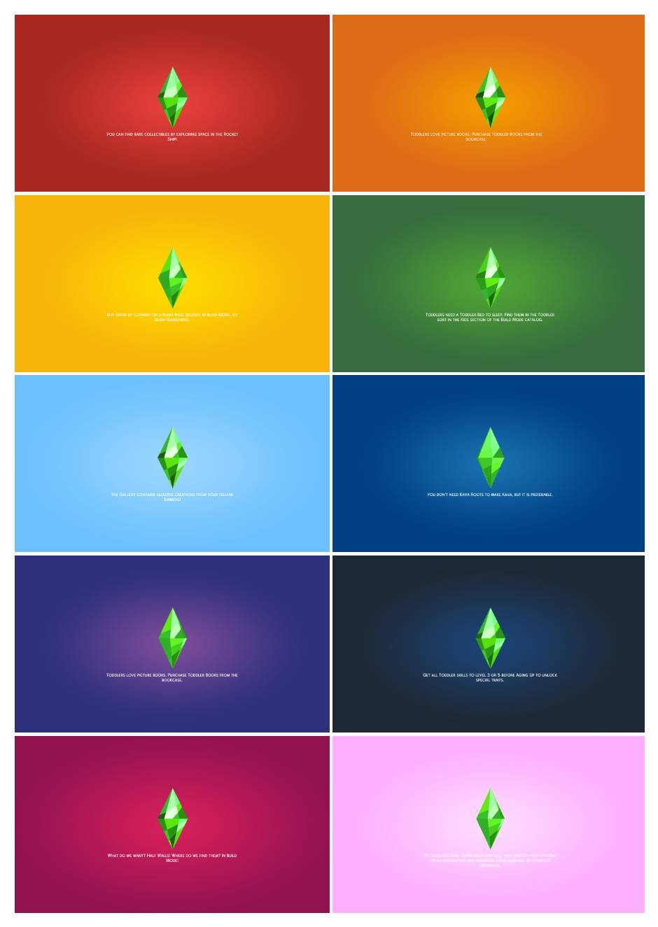 Фоны для экрана загрузки - Loading Screen Overrides