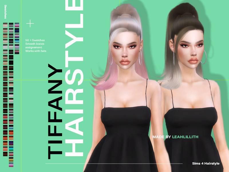 Прическа - Tiffany Hairstyle