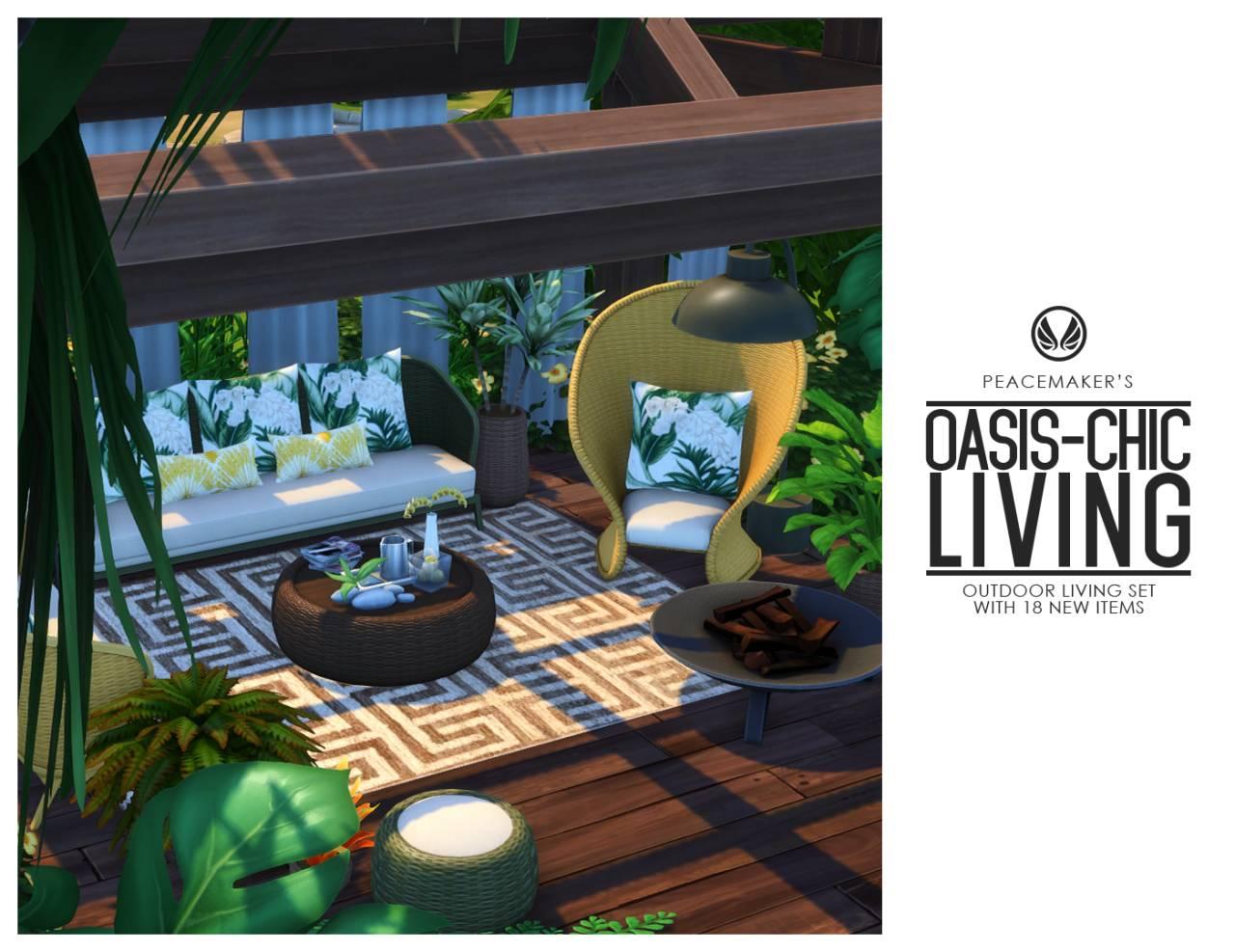 Сет для внутреннего дворика - OASIS-CHIC LIVING