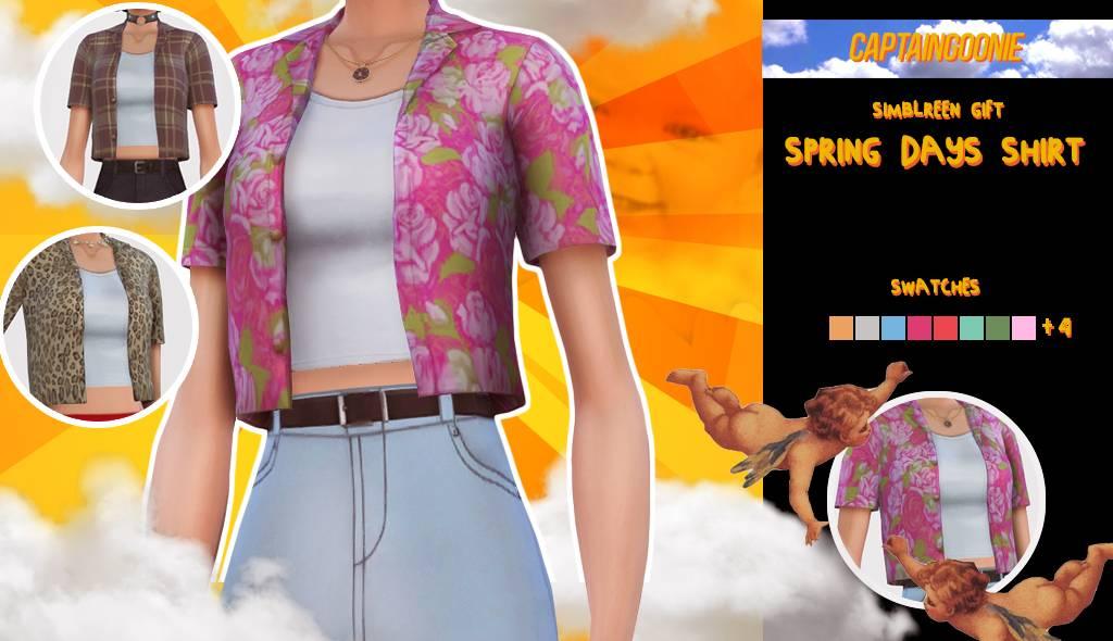 Рубашка и топ - Spring Days Shirt