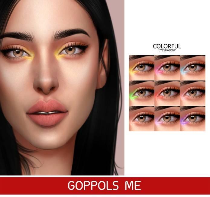 Тени для век - Colorful Eyeshadow