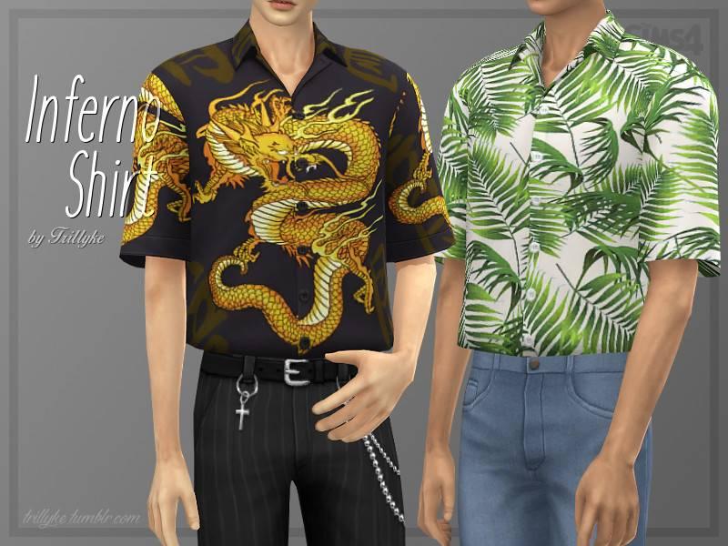Рубашка - Inferno Shirt