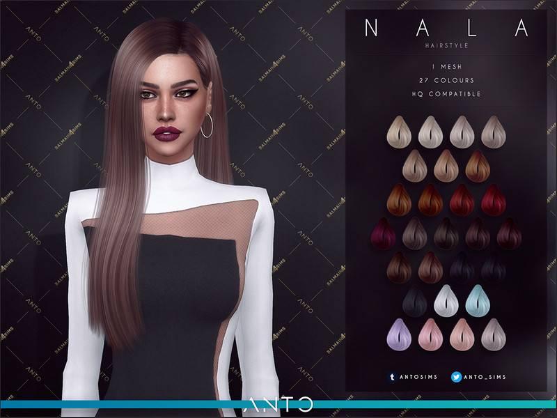 Женская прическа - Nala