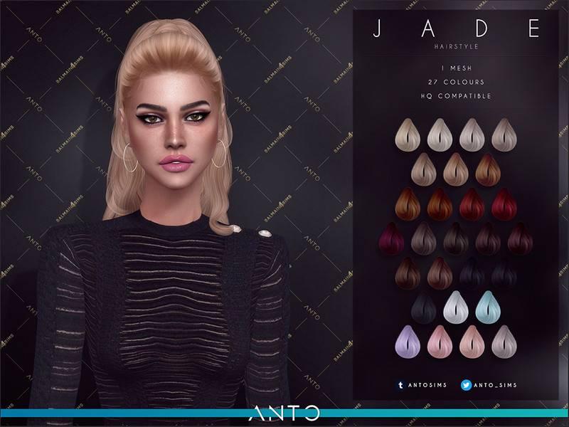 Женская прическа - Jade Anto
