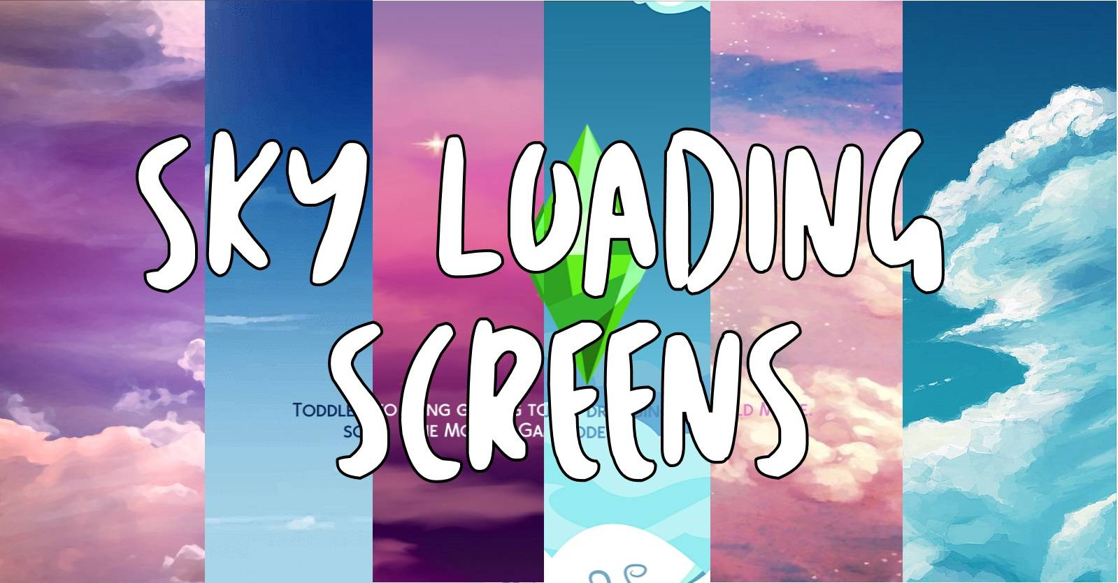 Фоны для экрана загрузки - Sky Loading Screens